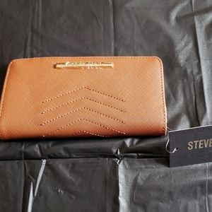 Ladies Wallet Cognac Color